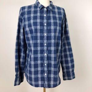 """J.Crew Button up """"Boy"""" Shirt, 100% Cotton"""